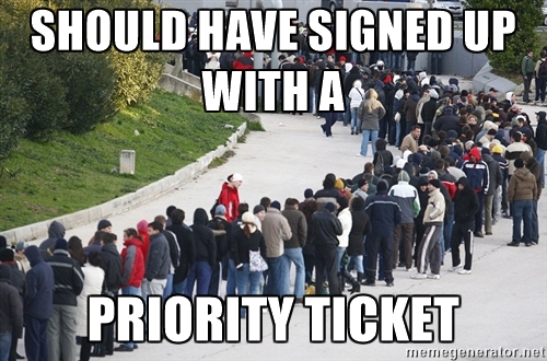 priority ticket